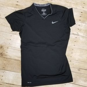Nike Pro Combat Dri-Fit Fitted Tee